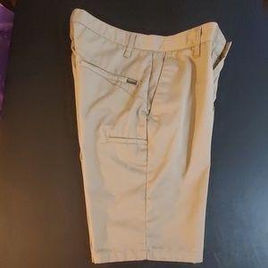 Volcom flat front khaki shorts - Size 28